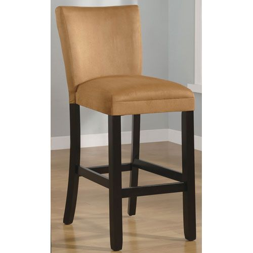 Gold Inch Microfiber Bar Stool Coaster Furniture Bar Height To Inch