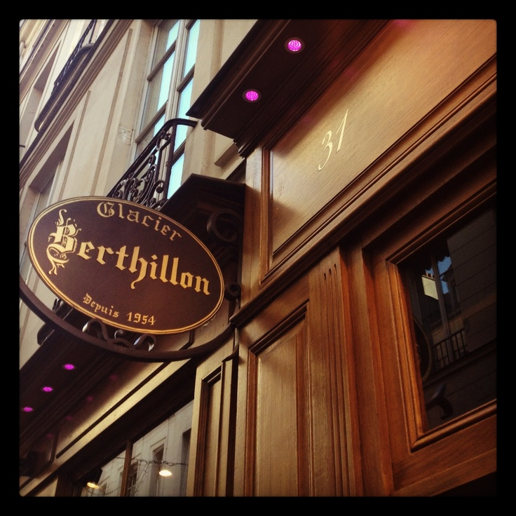 Image detail for -home of berthillon one of the best glaceries in paris
