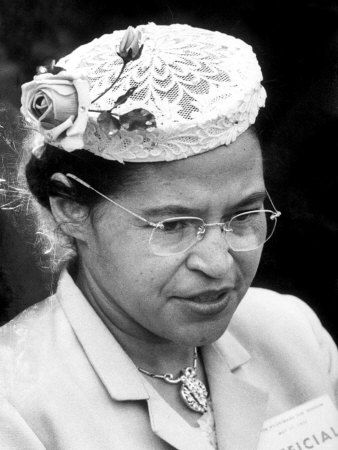 Rosa Parks | Rosa Parks Woman Who Touched Off Montgomery, Alabama Bus Boycott by ...