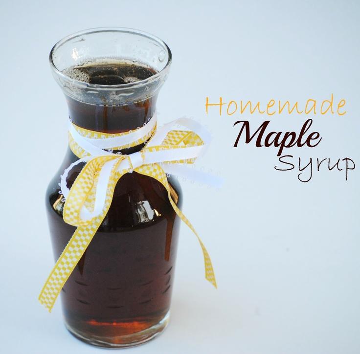 The Farm Girl Recipes: Homemade Maple Syrup