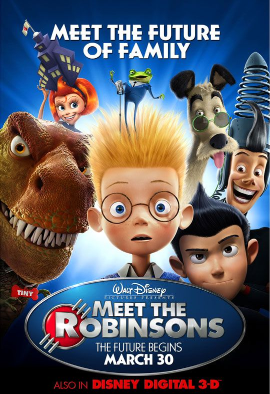 Daily Disney Film 47: Meet the Robinsons