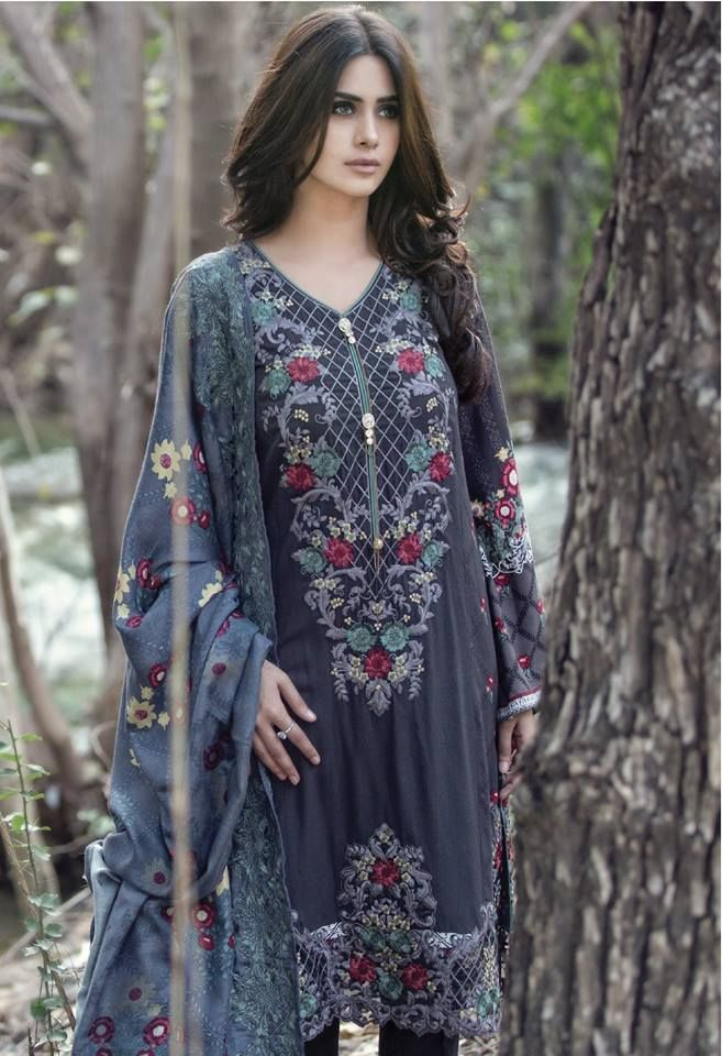 Maria B By Reshma Textile Winter Linen Collection 2015-2016, Pakistan