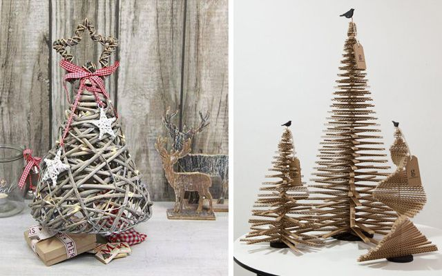Rboles de navidad modernos i fantasia con la carta for Arbol navidad ratan
