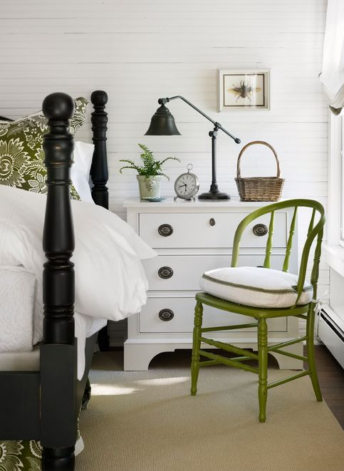 Here s another example of a small dresser serving as a night stand  The  little pop. 17 Best ideas about Small Dresser on Pinterest   Farmhouse