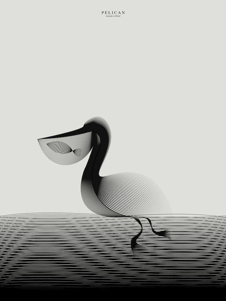 My Modern Shop Spotlight - Andrea Minini's Playful Animal Illustrations - My Modern Met