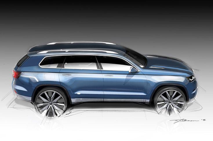 Volkswagen SUV Concept 7 places