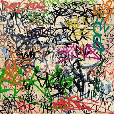 1000 id es propos de papier peint graffiti sur for Papier peint sur un seul mur