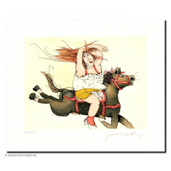janosch  susanne hat ein pferd juche  janosch janosch