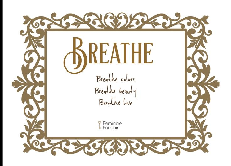 Breathe| lovenote|feminine boudoir