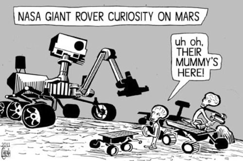 Mars Rover Jokes - Pics about space