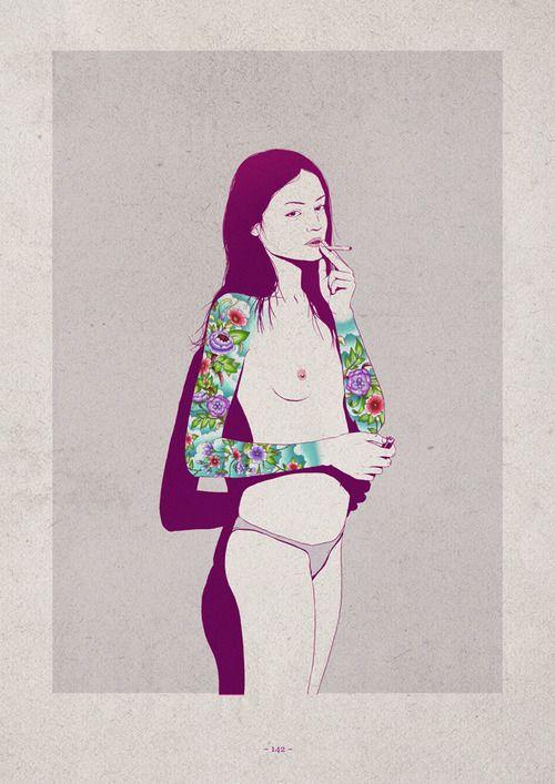Las chicas de Adams Carvalho | MUNDOFLANEUR.COM | MUNDOFLANEUR.COM