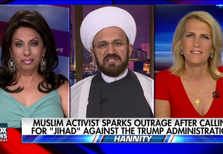 "(The Blaze) Conservative pundit Laura Ingraham and a prominent Muslim imam engaged in a heated debate on Friday over a left-wing Muslim activist's controversial call for ""jihad"" against President D…"