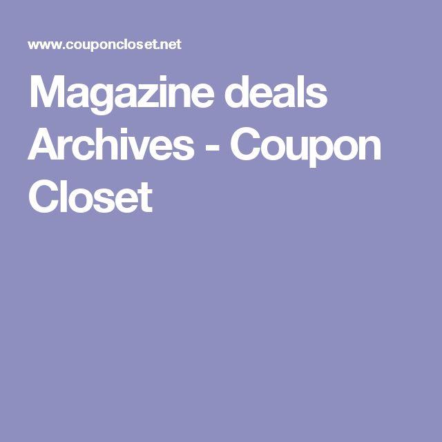 Magazine deals Archives - Coupon Closet