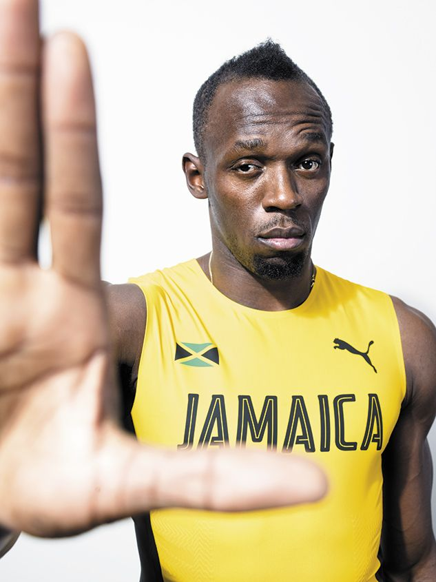 With his eye on three more golds at the Rio Olympics, a relaxed Usain Bolt talks to RW's Kerry McCarthy about medals, fame and ugly feet.