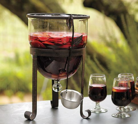 Sangria Tub And Ladle Or Just A Fabulous Punch Bowl