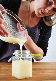 Bodywash selber machen! Mit Kokosöl, Honig, ätherischen Ölen und Flüssigseife!