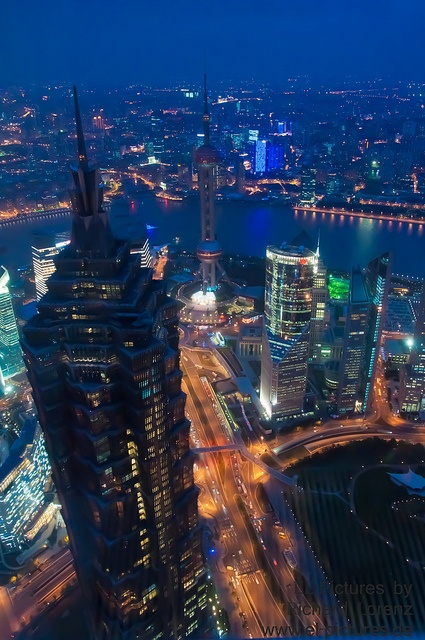 Shanghai's view from above