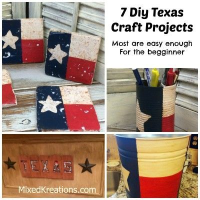 Here is a collection of my Texas craft projects. You will find something here for the beginner or for the advanced crafter.