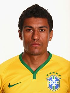 Paulinho of Brasil - worldcup 2014 football team