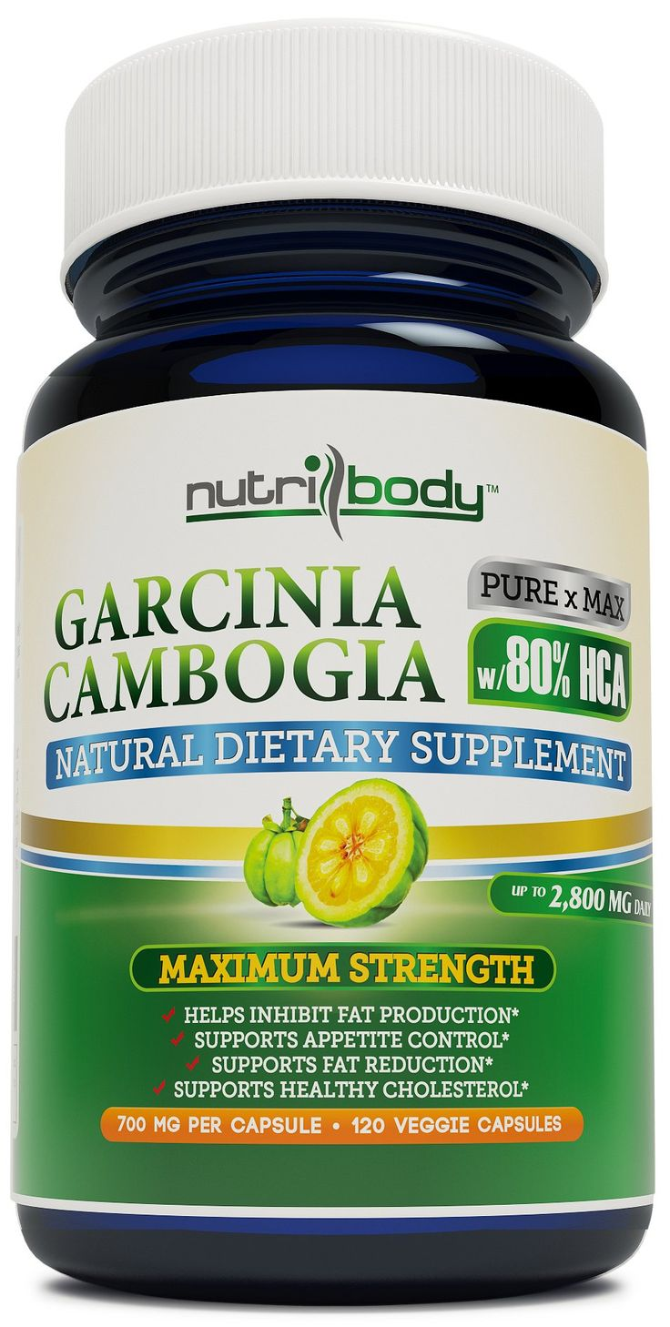 nutribody Pure Garcinia Cambogia Extract - 80% HCA (Highest on Amazon), 700 mg Per Capsule, 120 Vegetarian Capsules, 30 Days Supply of 2800 mg Extremely Powerful NEW and IMPROVED Garcinia Cambogia Extract, Maximum Strength Natural Weight Loss Supplement, Appetite Suppressant, Fat Burner. 100% Money Back Guarantee! No Risk - Lose Weight or Your Money Back! ✔✔✔ Check [SPECIAL OFFER & PROMO] below for DISCOUNTS ✔✔✔