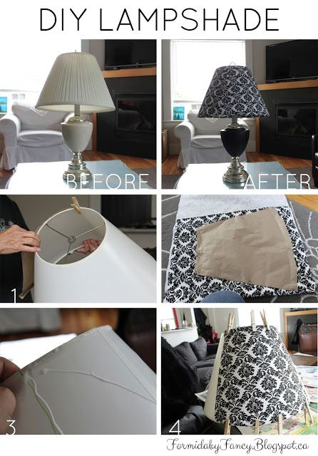 DIY Fashion & Decor | Formidably Fancy: DIY Lampshade
