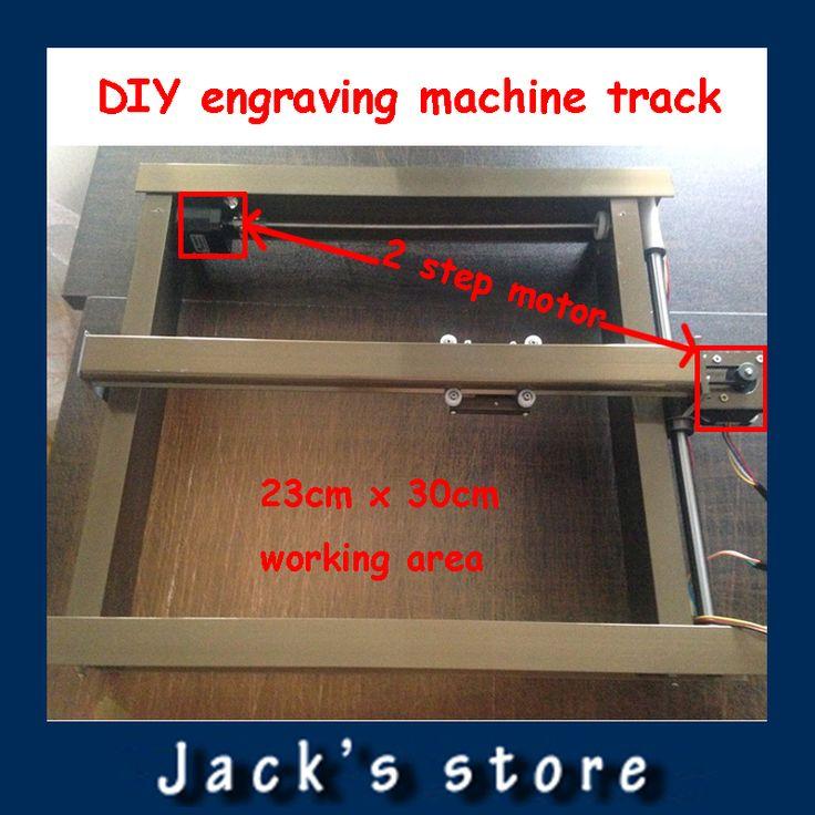 DIY laser machine Track laser engraving machine track laser machine frame with 2 stepper motor 23cm x 30 cm  EUR 107.26  Meer informatie  http://naaar.nl/22CKxF0 #aliexpress