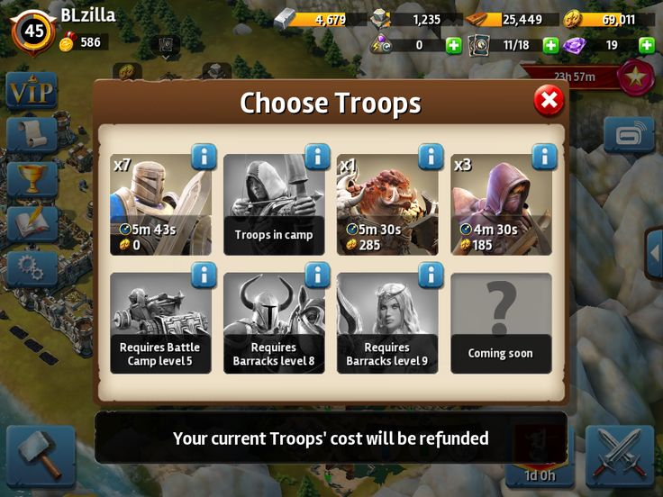 Siegefall | Tycoon Phase | Choose Troops | UI HUD User Interface Game Art GUI iOS Apps Games | Gameloft | www.girlvsgui.com
