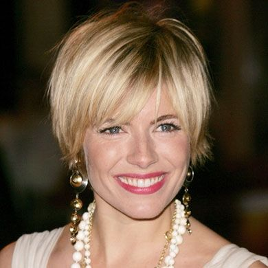 Sienna Miller Hair Cuts I Celebrity Hair Styles I Sienna Miller I In Style