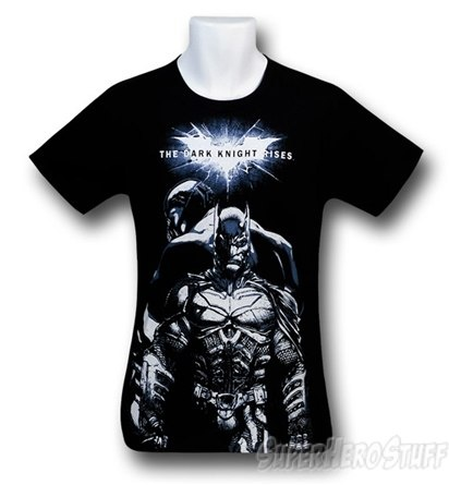 Dark Knight Rises Batman Bane Sketch T-Shirt