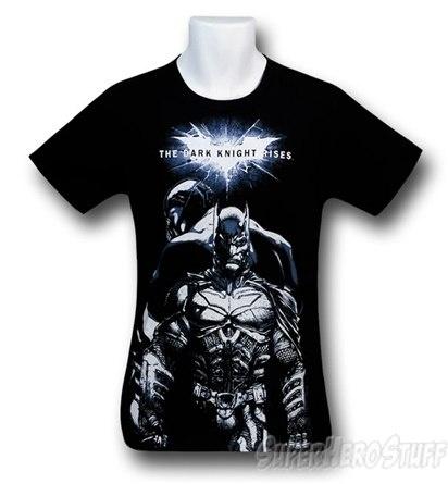 Dark Knight Rises Batman Bane Sketch T-Shirt