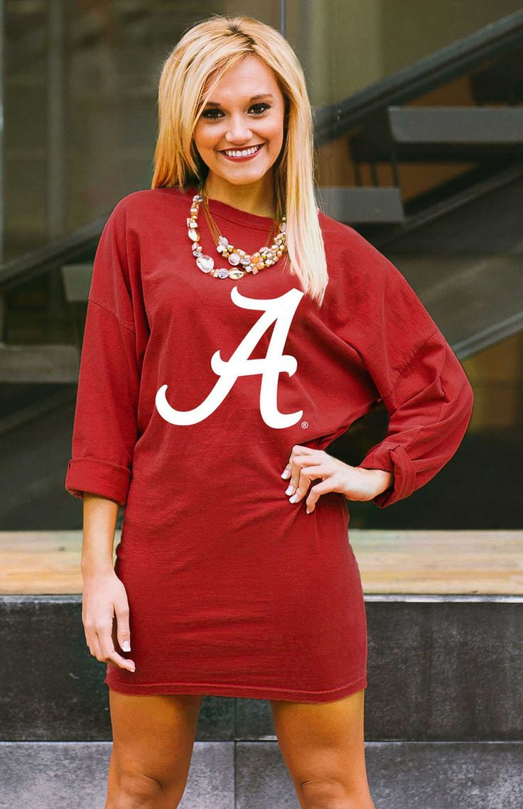 GAMEDAY COUTURE ALABAMA 'HERE TO TAILGATE' VINTAGE WASH