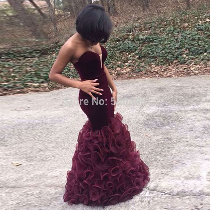Find More Prom Dresses Information about Concise Mermaid Prom Dresses with Ruffles 2016 vestido de festa longo Sweetheart Evening Party Gowns Charming Zipper Back,High Quality prom dress clearance sale,China dress stills Suppliers, Cheap prom dress from Su Zhou Wedding &Events Co,LTD on luulla.com