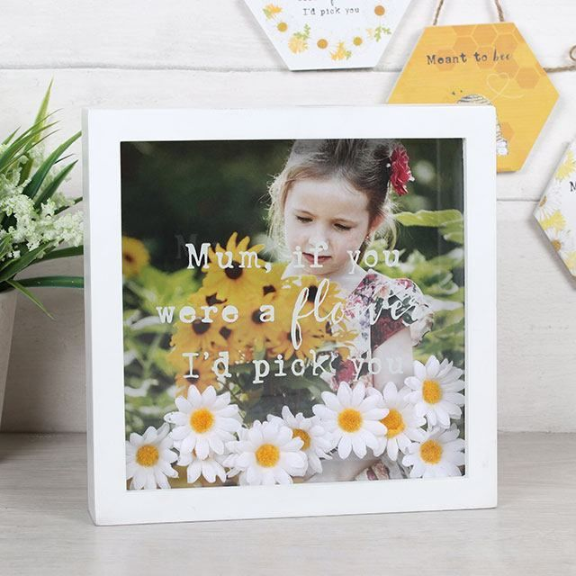 Mum, If You Were A Flower I'd Pick You Box Frame (3)