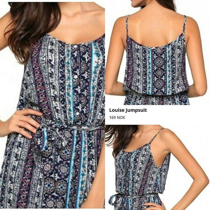 Denne fortjener du! Jumpsuit kun 169- se den på www.grahamshop.no #grahamshop.no #jumpsuit #kjole #dress #mote #fashionforall #twitter #love #instalikes #norway #oslo