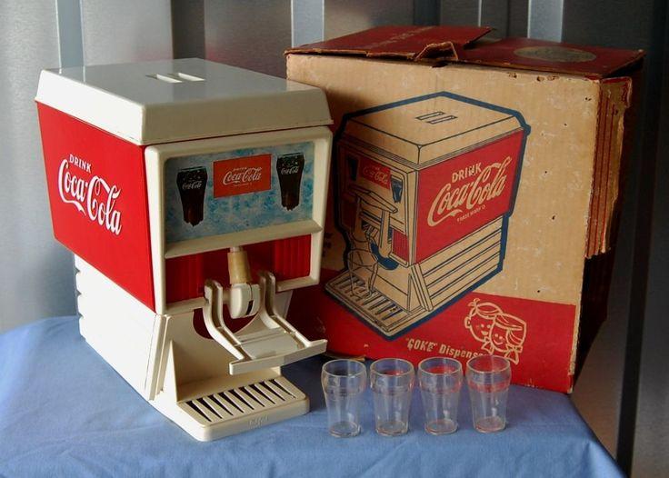 coke fountain machine toy vintage jpg 1500x1000