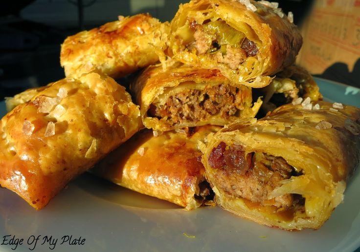 Moroccan Lamb and Harissa Sausage Rolls