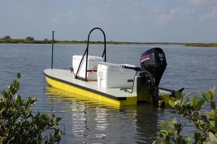 Unknown mfg but awesome little boat texas scooter for Bass boat plans