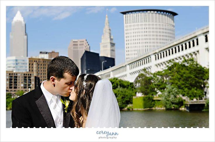 Wedding Invitations Cleveland: Wedding Portrait At Heritage Park On Corner Of Elm And