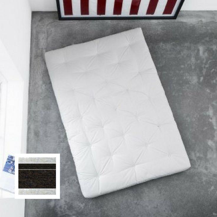 SUPER HARD COCO FUTON. I denne futonen laget i japansk stil gir kokosfiber bedre luftsirkulasjon og øker robusthet.