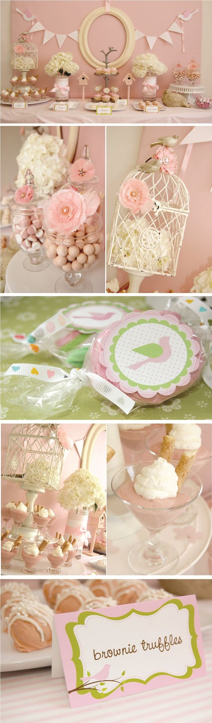 I came across this beautiful Pink Birdie themed baby shower by Frog Prince Paperie last week and I could not wait to share it. Owner and designer, Paula Biggs, spared no detail when it came to cre...