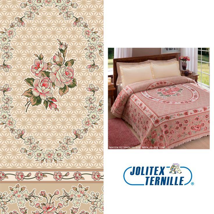 A Jolitex Ternille é referência nos ramos de cobertores, colchas e tapetes. Tudo fica ainda mais incrível quando possui a estampa que o nosso estúdio criou e desenvolveu.