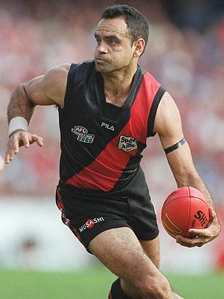 Michael Long - Essendon Football Club legend #Essendon #AFL #football