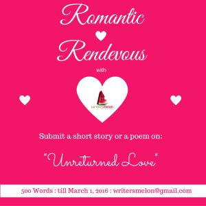 Writing Prompt - #RomanticRendezvous