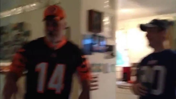 A Father Tears Up When His Son Surprises Him With Bengals Tickets