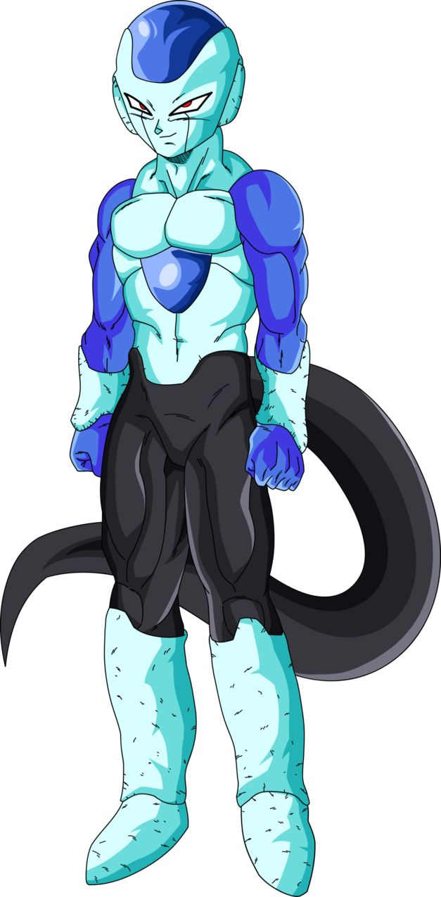 Frost Dragon Ball Super Palette 2 by EymSmiley