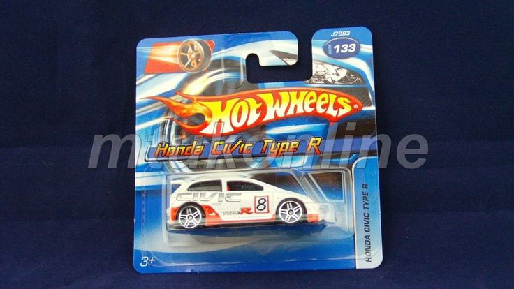 HOTWHEELS 2006 | HONDA CIVIC TYPE R | 133-2006 | J7993 | WHITE