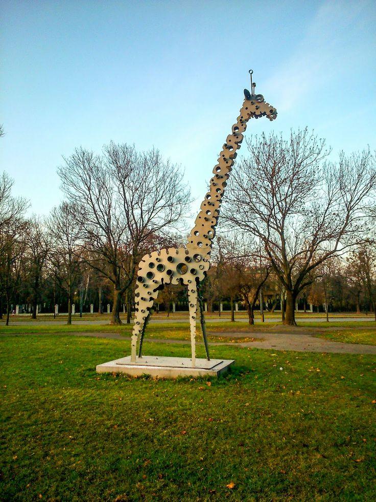 Warszawa Wola: Wolska żyrafa