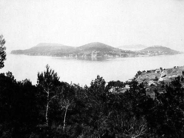 Osmanlı Döneminden Adalar manzarası, fotoğraf 1880 - 1893 yılları arasında çekilmiş