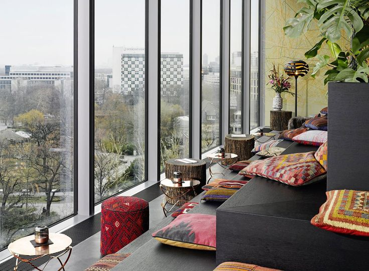 Fresh hours Bikini Berlin Hotel by Studio Aisslinger