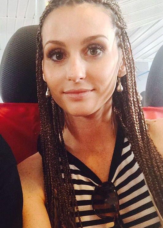 white girl braids crimp